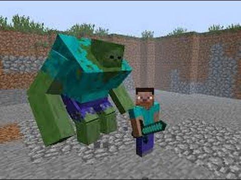 Minecraft lotta tra mutanti creeper vs zombi youtube - Minecraft zombie vs creeper ...