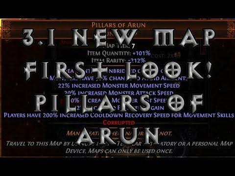 [3.1] New Map! First Look @ Pillars Of Arun Dunes Map