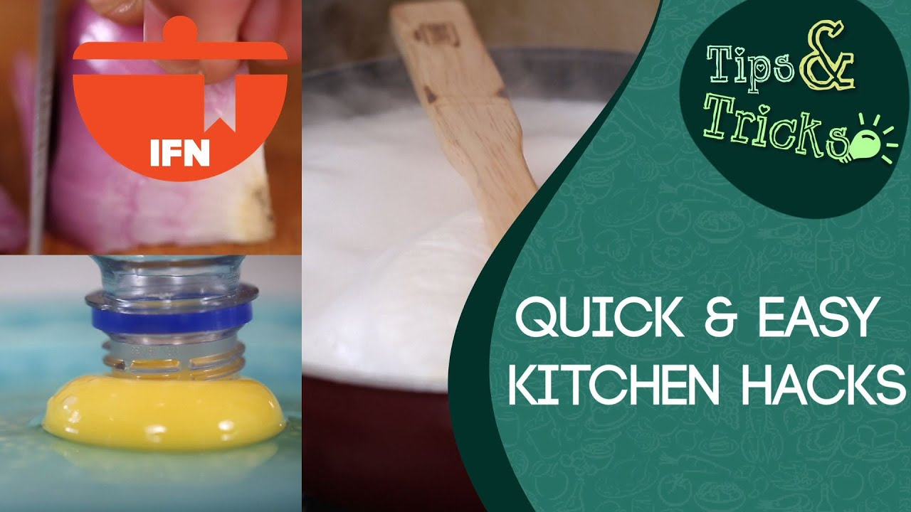 More Quick & Easy Kitchen Hacks || IFN Tips & Tricks - YouTube