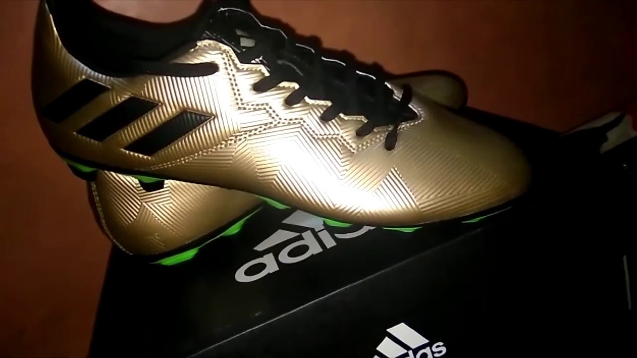competitive price 91547 21098 Adidas Messi 16.4 FxG Unboxing!!