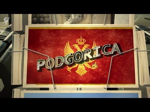 postcards Podgorica Montenegro