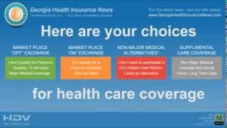 Georgia Health Insurance Exchange Marketplace