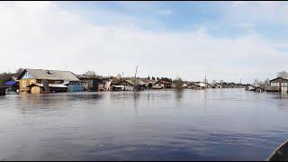 Наводнение в Нившере. Новости с реки 10 мая 2020.