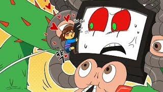 Frisk Has CERTAINLY Surprised PHOTOSHOP Flowey! (Undertale Comic & Animation Dub Compilation) thumbnail