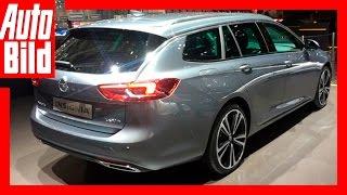 Opel Insignia Sports Tourer (Genf 2017) - Erste Sitzprobe /Review