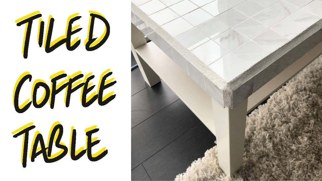 how to tile a table diy ikea coffee table upcycle