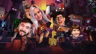 FULL STREAM: Minecraft w JackSepticEye, CrankGameplays & RubberNinja!