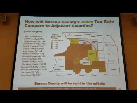 (2/4) Bureau County Law Enforcement Center Public Forum