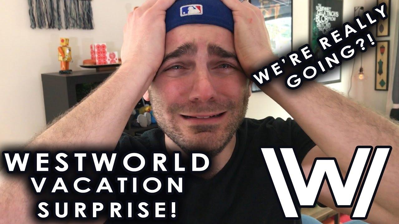 Westworld Vacation Surprise Disney Parody