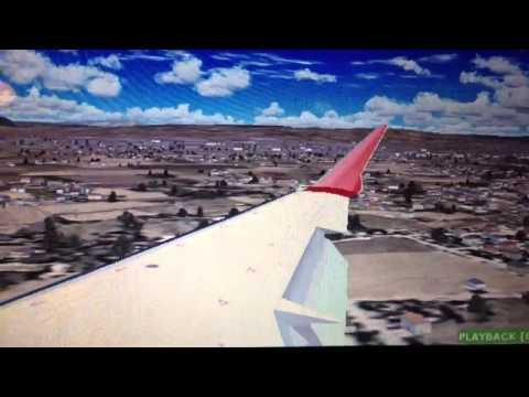 FS2004 Iberia Regional Bombardier CRJ1000 Landing At Barcelona-El Prat LEBL (Spain)