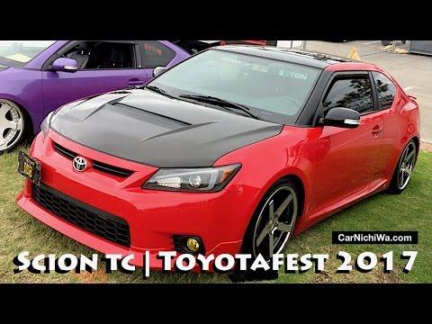 Scion Tc Display Toyotafest 2017 Car Show Carnichiwa