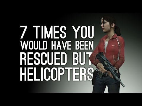 7 Times You Would Have Been Rescued But Your Rescue Helicopter Crashed