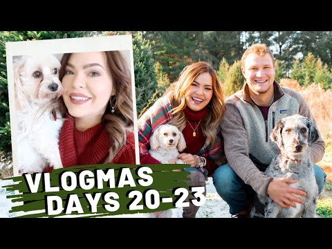 VLOGMAS Days 20-23 | The One With The Chatty GRWM