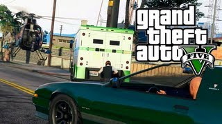 GTA 5 Online: Fast And Easy Cash By Selling Cars & Robbing Stores (GTA V)