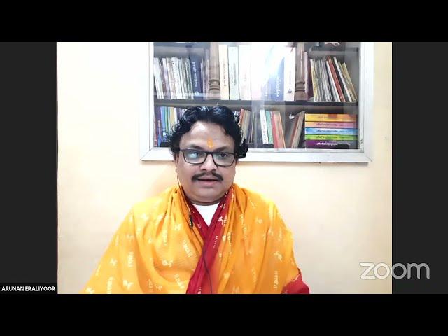 #11 വാല്മീകി രാമായണ സ്വാദ്ധ്യായം - നമോ ധർമ്മായ - Shri Arunan Iraliyoor