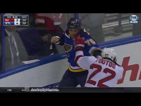 Jordin Tootoo vs Ryan Reaves Jan 12, 2016
