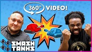 UUDD 360° - SAMOA JOE vs. AUSTIN CREED in SMASH TANKS!