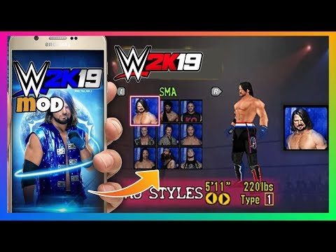 WWF No Mercy 2K19 BETA Mod Android