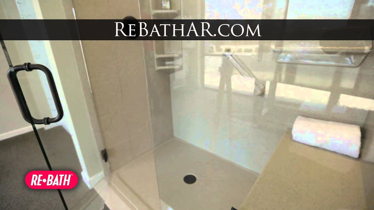Dream Bathroom Re Bath Of Arkansas Youtube