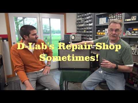 D-Lab Electronics Repair Shop No problem found Fender Marshall guitar amps