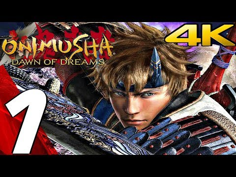 Onimusha Dawn Of Dreams HD - Gameplay Walkthrough Part 1 - Prologue [4K 60FPS]