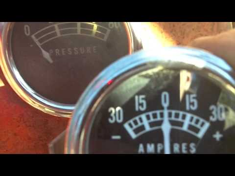 Re-Replacing The Ammeter on the 1948 8n - YouTube
