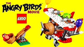 Angry Birds Movie 2016 LEGO Piggy Back Plane Playset 75822 Unboxing Toy Review TV