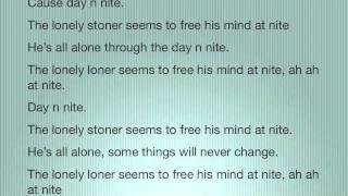 Day 'N' Nite - Kid Cudi vs Crookers (lyrics on screen)