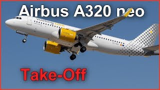 Vueling Airbus  A320neo Take-off 🛫