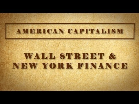Wall Street and New York Finance