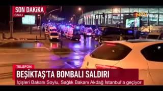 İstanbulda Patlama Son Dakika 10.12.2016