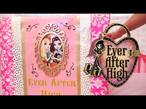 EAH Huge Haul ! Toys and Dolls Fun Opening Big Surprise Box with Ever After High | SWTAD Kids