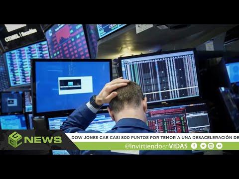 GBC News (12/05/2018) El Dow Jones cae casi 800 puntos; temor en Wall Street.