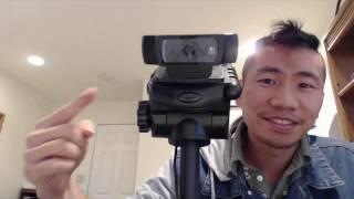 Logitech C922 Pro Stream Webcam Review and C920 Comparison | ReviewedByPhil
