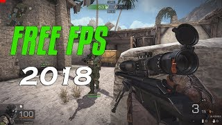 Top 5 Free FPS Games on Steam 2018 [NEW]