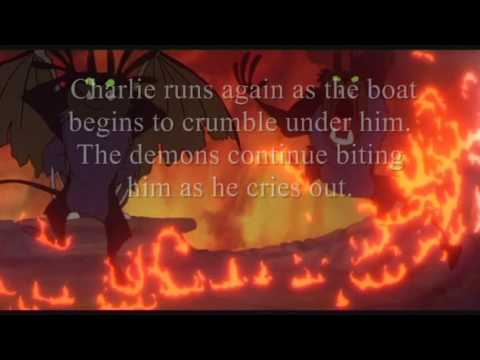 "The biggest riddle of Don Bluth Movie  FULL UNCUT DELETED SCENE ""HELL SCENE"" CHARLIE'S NIGHTMARE"