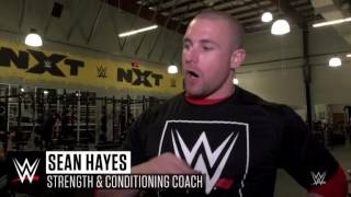 Babatunde Aiyegbusis progress in the WWE Performance Center