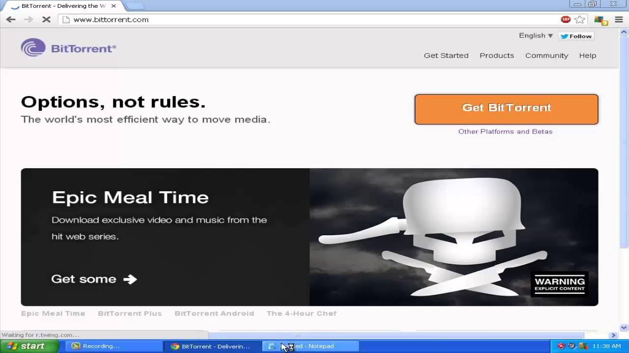 bittorrent how to undo dont download