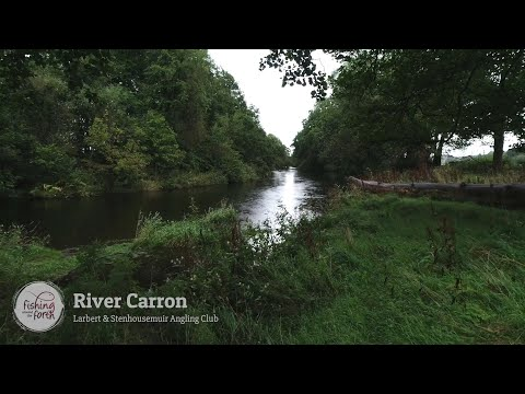 Fishing Around The Forth - Larbert & Stenhousemuir Angling Club - River Carron