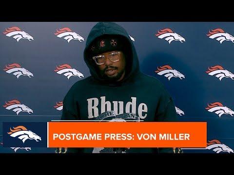Von Miller: 'It's on to Cincinnati now'