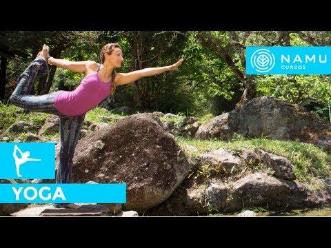 posição de yoga  natarajasana e garudasana  fernanda cunha  youtube