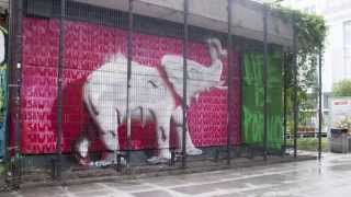 DIAN x Life is Porno: Warsaw elephant (streetart animation)