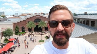 Our Updated Tour Around Disney Springs Town Center District! | Shops, Restaurants & Entertainment!