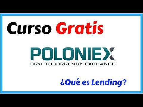 Que es Lending en Poloniex como podemos ganar Bitcoin prestando saldo en esta plataforma de YouTube · Duración:  21 minutos 57 segundos