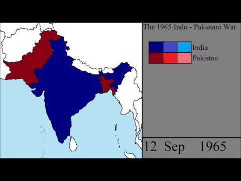 The Indo-Pakistani War of 1965: Every Day