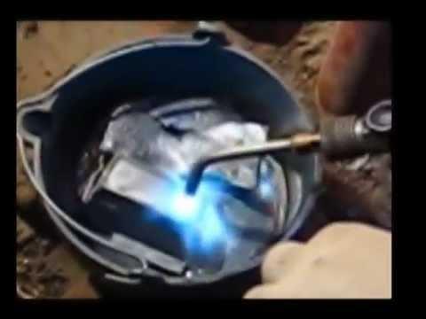 Oakum Setting Iron Pipe