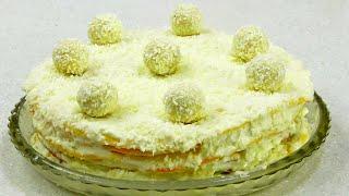 Нежнейший торт Рафаэлло Готовим вместе с Аней