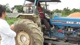 รถใช้น้ำ รถไถ กับไฮโดรเจน HGV thailand
