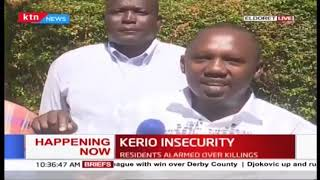 Kerio residents alarmed over killings in the area