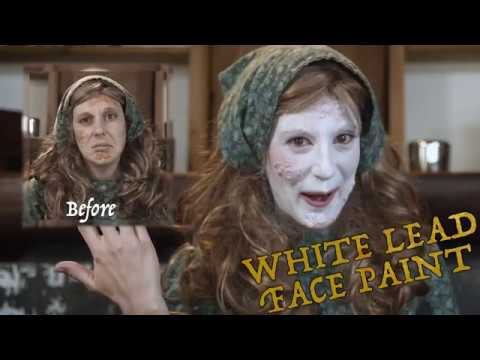 Beauty's Always Been A Bitch:  ELIZABETHAN WHITE LEAD MAKEUP ON A BUDGET